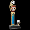 Custom Graphic Soccer Trophy Soccer Trophy Awards