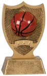 Plastic Sport Shield Basketball Award Basketball Trophy Awards
