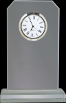 Clipped Corners Clear Glass Clock Clipped Corner Awards